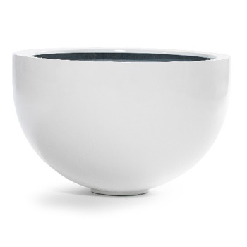 GALLERY BOWL 1 WHITE