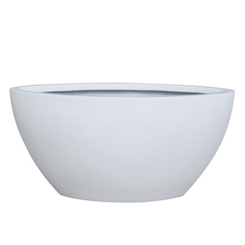GALLERY OVAL 2 WHITE