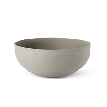 SENSUOUS BOWL 2 CEMENT